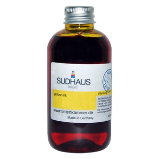 Sudhaus Tinte yellow (gelb) Canon CL-511 CL-513Y CL-511 CL-513Y XL - 500ml